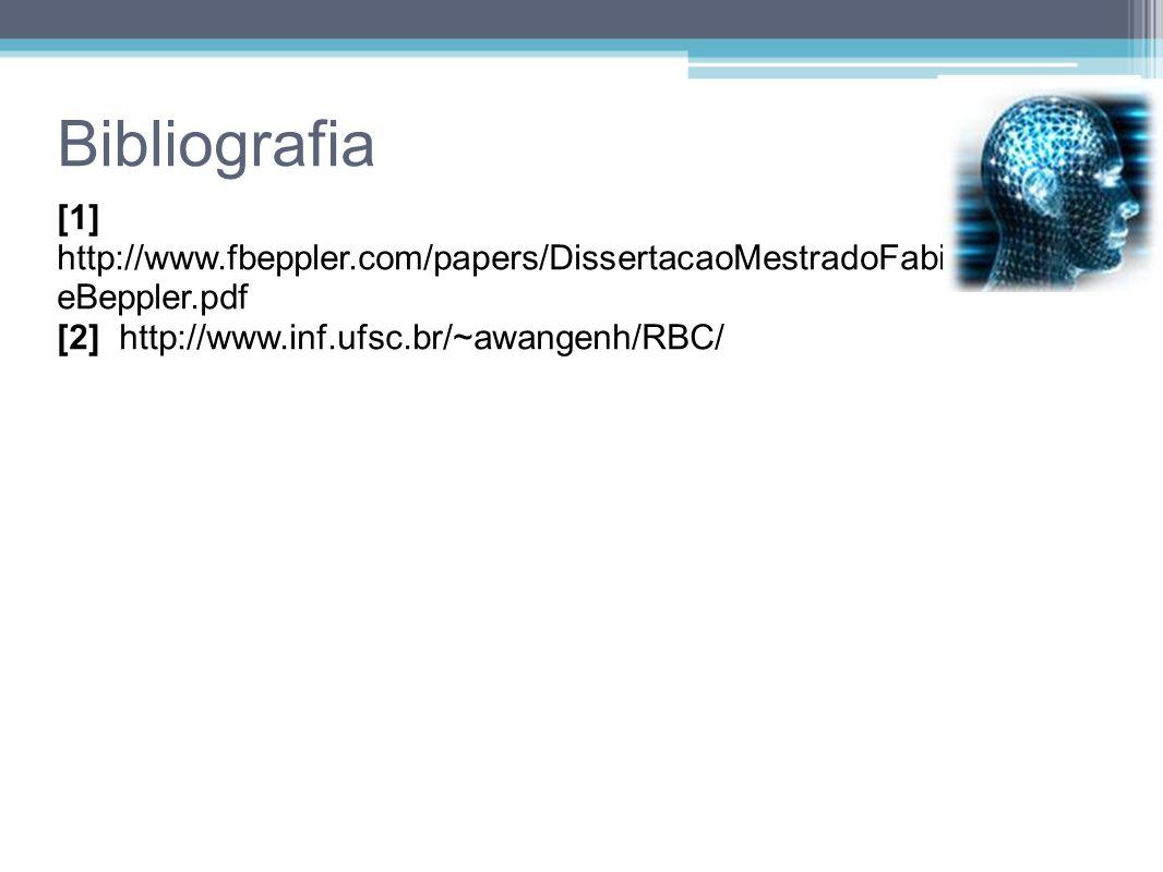Bibliografia [1] http://www.fbeppler.com/papers/DissertacaoMestradoFabianoDuart eBeppler.pdf [2] http://www.inf.ufsc.br/~awangenh/RBC/