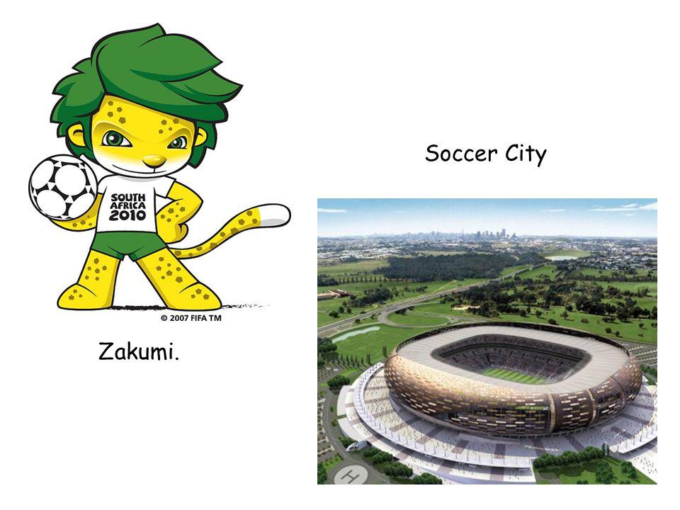 Zakumi. Soccer City