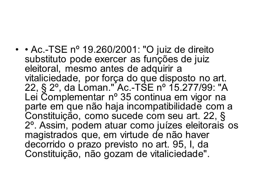 Ac.-TSE nº 19.260/2001: