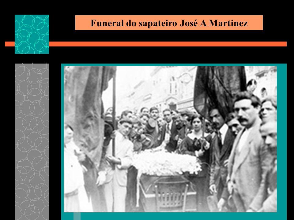 Funeral do sapateiro José A Martinez