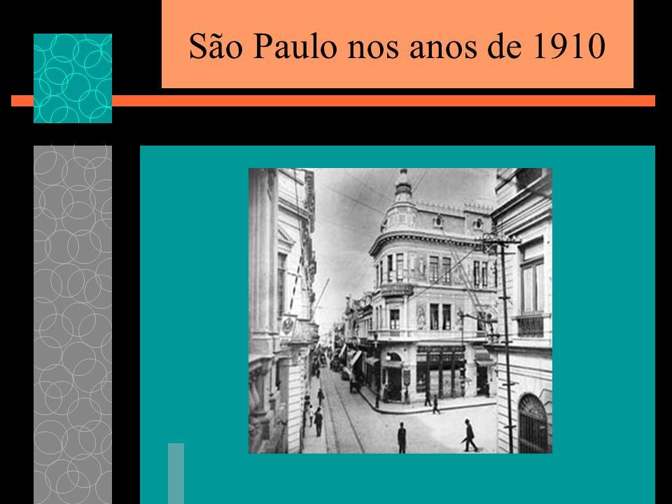 São Paulo nos anos de 1910