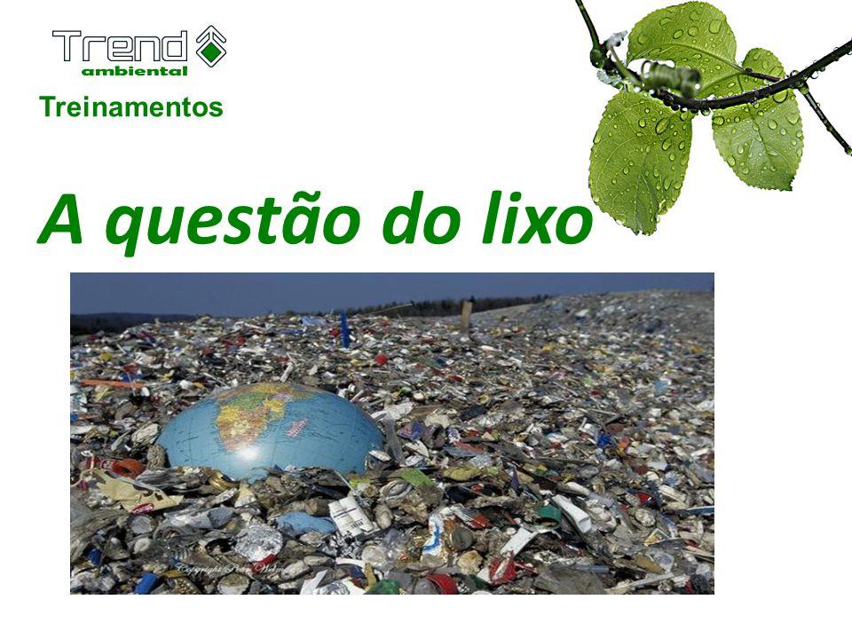 Treinamentos A questão do lixo