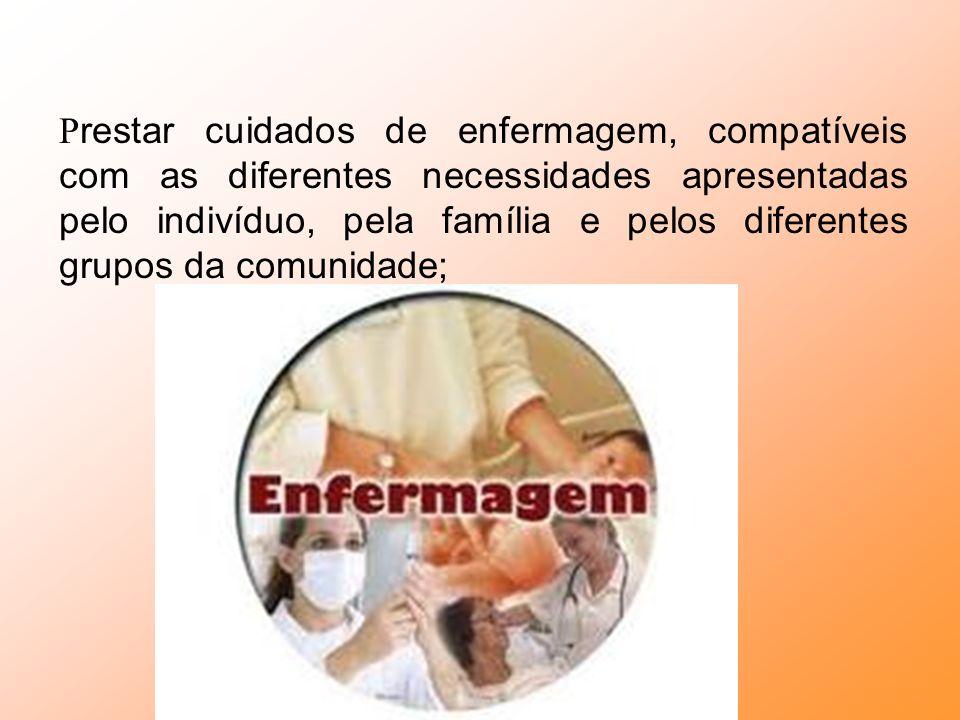C oordenar o processo de cuidar em enfermagem, considerando contextos e demandas de saúde;