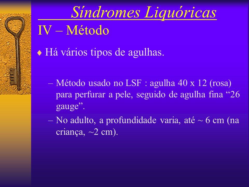 Síndromes Liquóricas