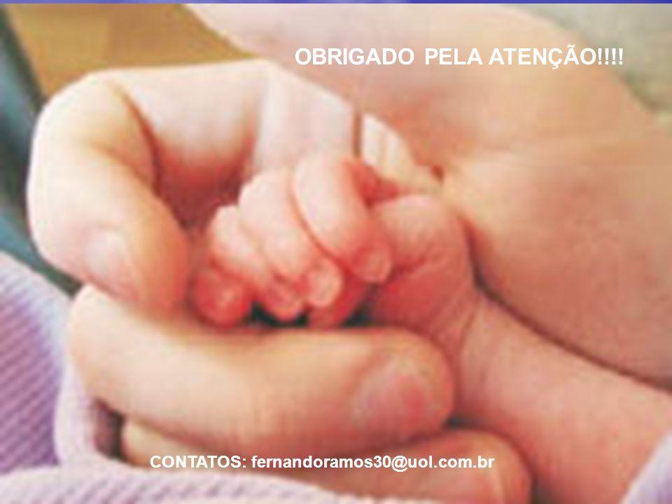 OBRIGADO PELA ATENÇÃO!!!! CONTATOS: fernandoramos30@uol.com.br
