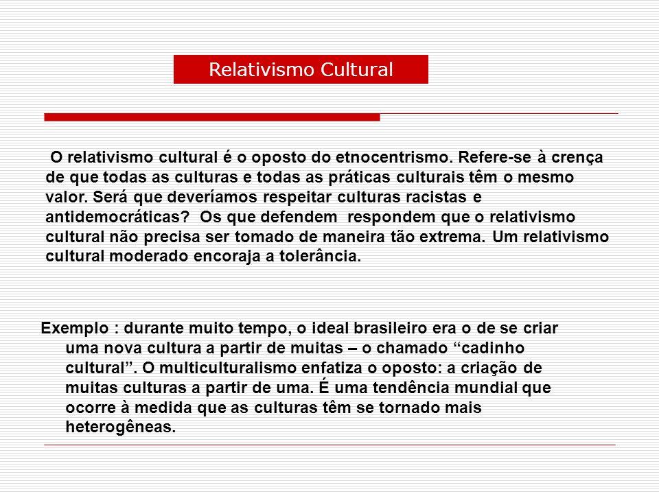 d) Da diversidade à globalização Nas sociedades tribais pré-letradas, as crenças e as práticas culturais são quase as mesmas para todos os membros.