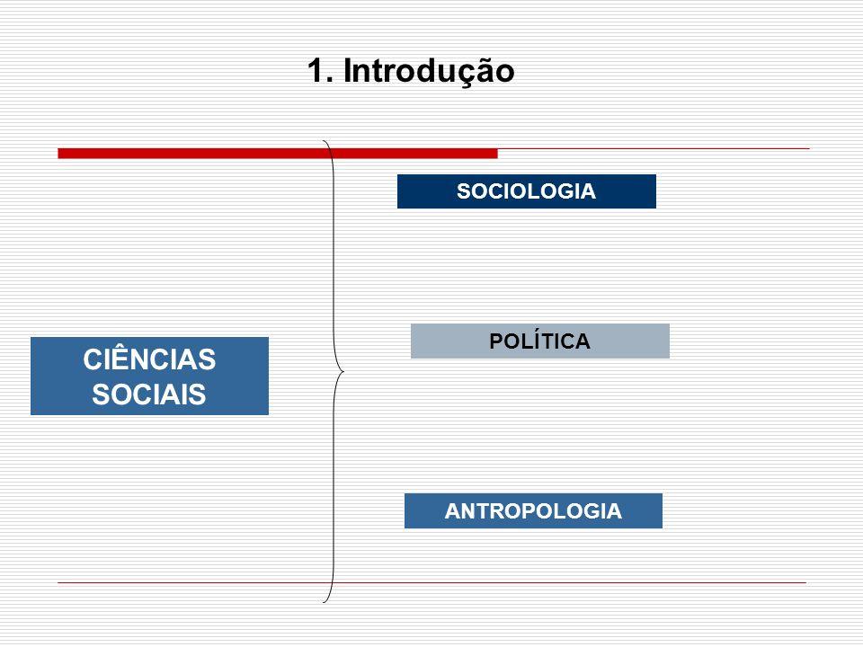 As ciência sociais estudam fenômenos complexos, situados em planos de causalidade e determinação complicados.