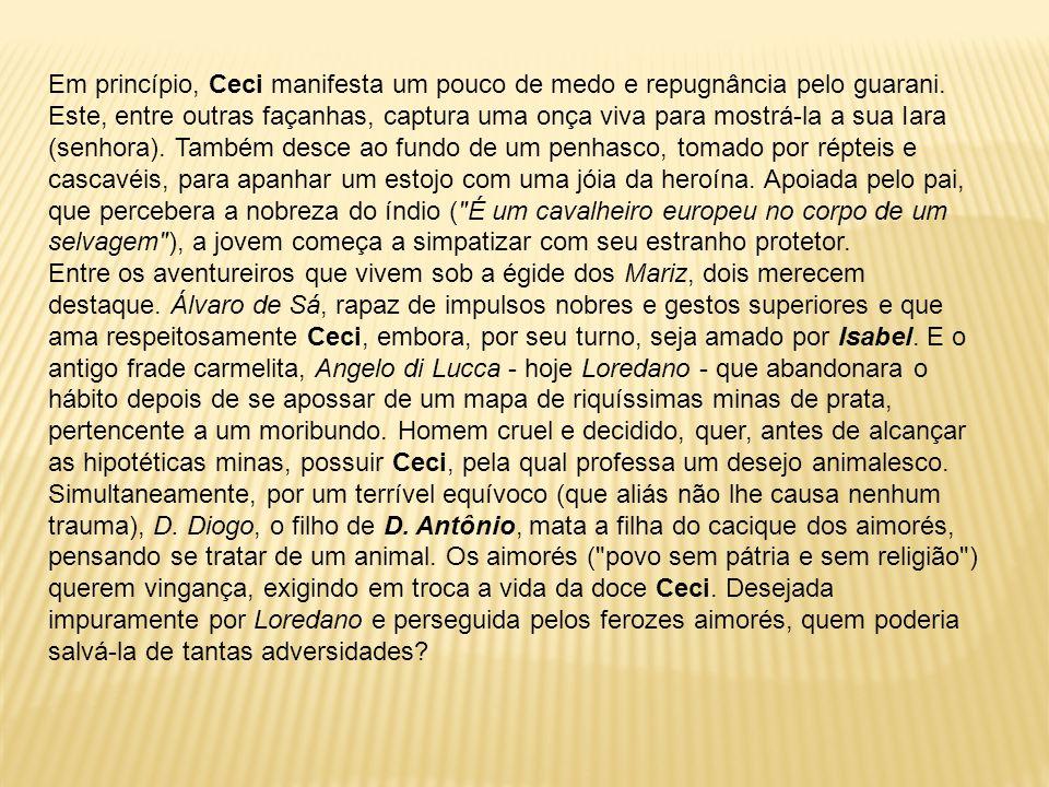 Peri revela então a extensão de sua fidelidade aos portugueses.