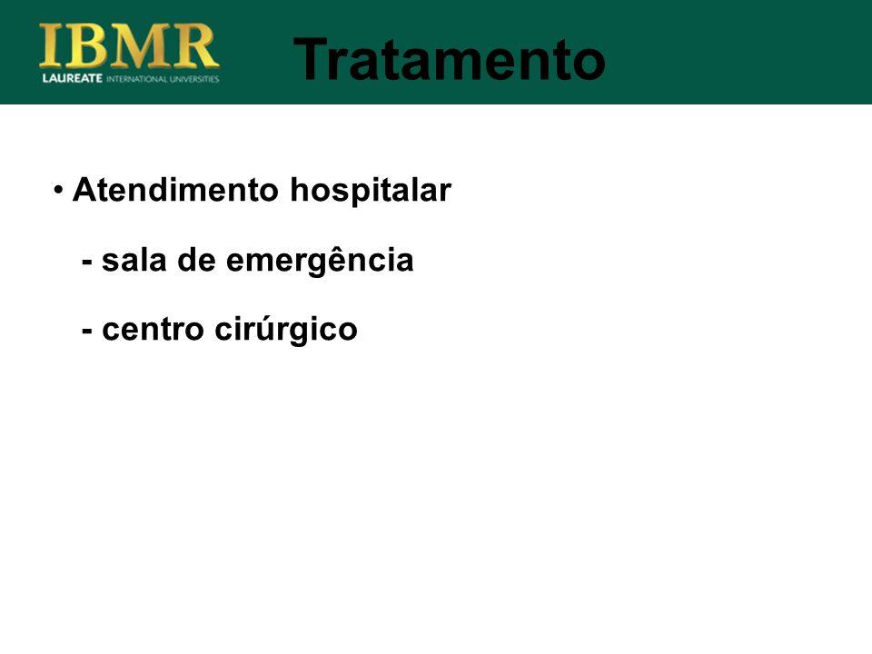 Tratamento Atendimento hospitalar - sala de emergência - centro cirúrgico
