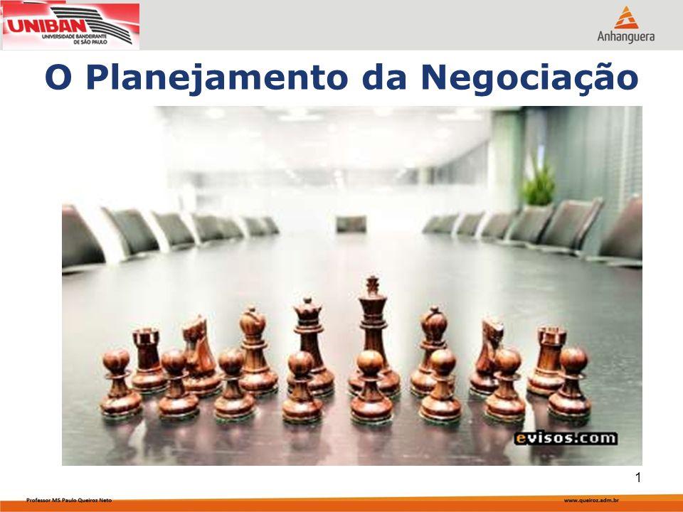 O Planejamento da Negociação 1