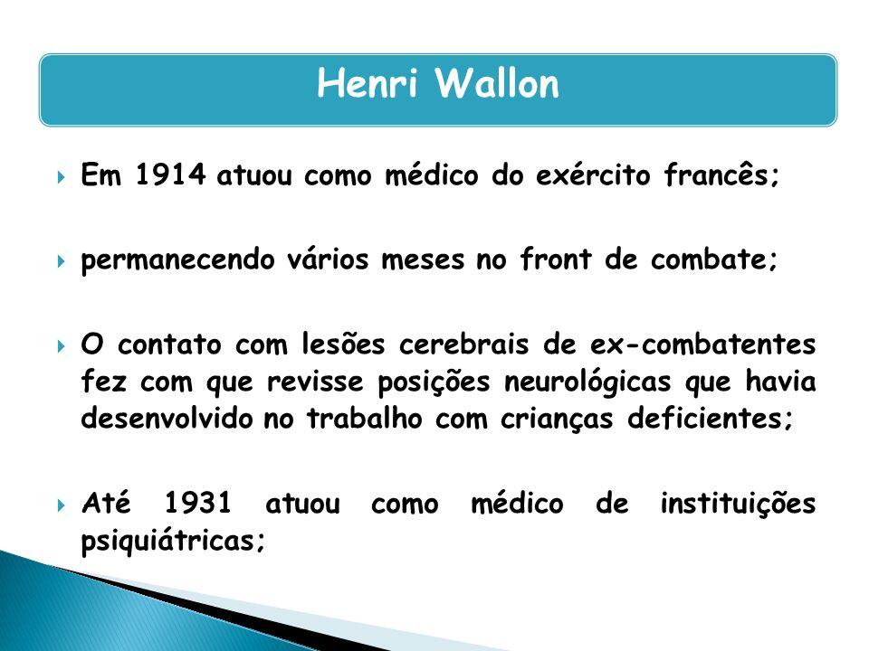 Em 1914 atuou como médico do exército francês; permanecendo vários meses no front de combate; O contato com lesões cerebrais de ex-combatentes fez com