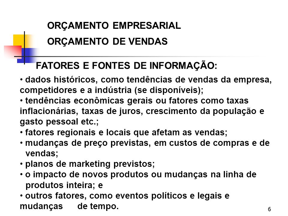 17 ORÇAMENTO EMPRESARIAL ORÇAMENTO DOS CUSTOS DE INDIRETOS FABR.