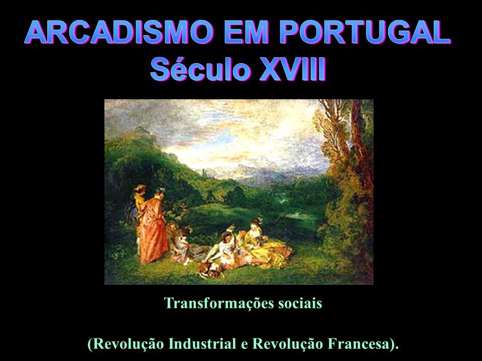 Transformações sociais (Revolução Industrial e Revolução Francesa).