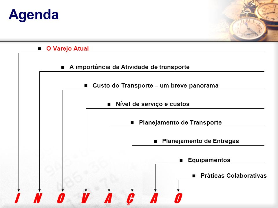 O varejo atual É constituído na combinação de dois fatores chave desse setor : LOCALIZAÇÃO LOCALIZAÇÃO MERCADORIAS MERCADORIAS