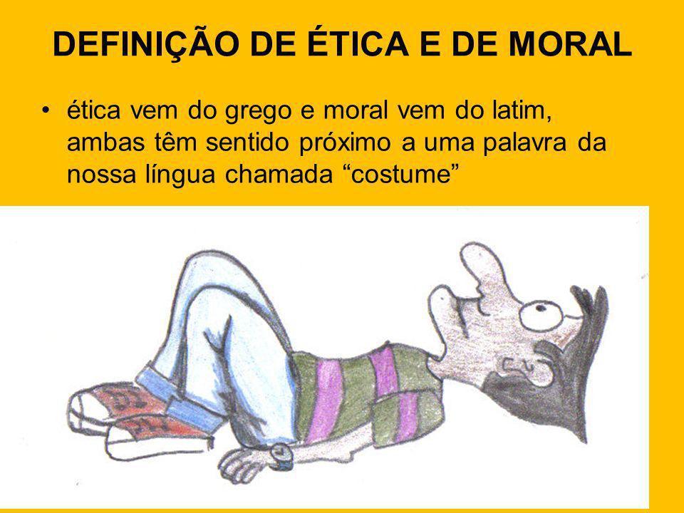 Moral A palavra moral, do latim: moris, quer dizer: o conjunto de normas e regras destinadas a regular as relações dos indivíduos numa sociedade dada.