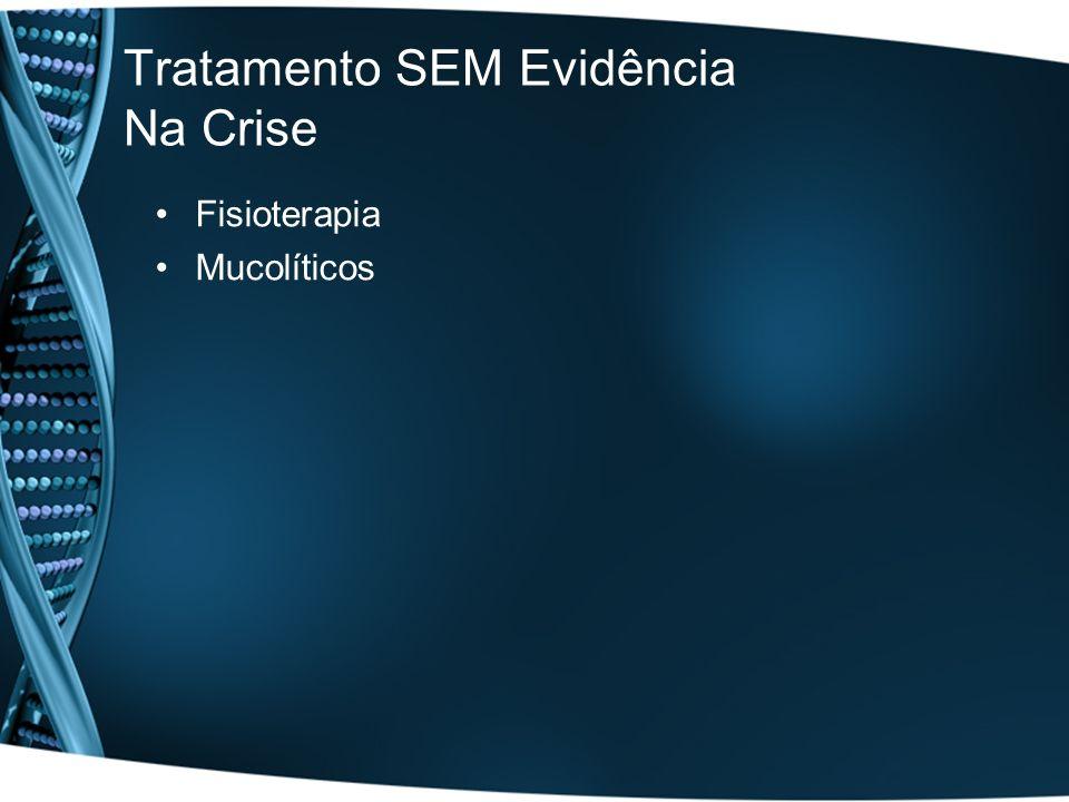 Tratamento SEM Evidência Na Crise Fisioterapia Mucolíticos