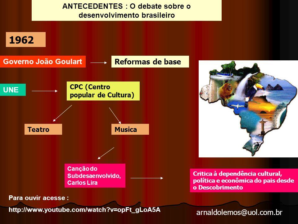 arnaldolemos@uol.com.br Companheiras - 2010- direção Breno Queirós – video produzido por um grupo de concluintes do curso de Jornalismo da Puc-Campinas.