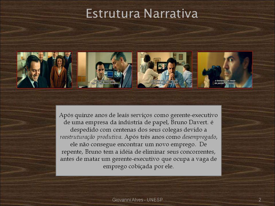 Giovanni Alves - UNESP33 O desemprego de longa duração (o trabalho precário,) exerce, um efeito desgastante nas relações humano-sociais.