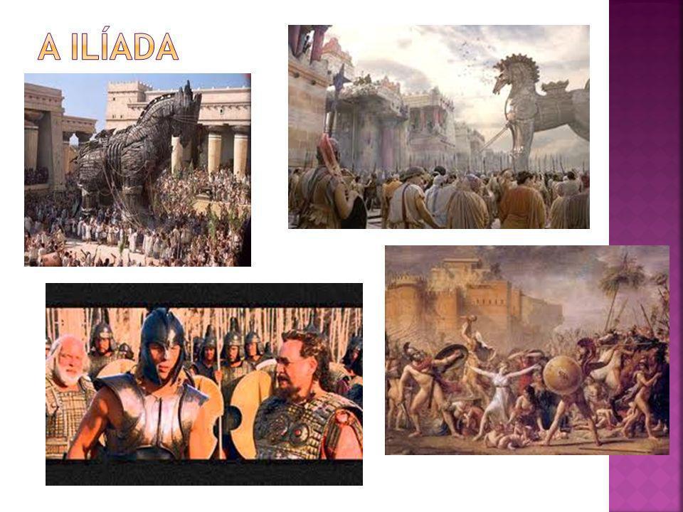 A Ilíada (em grego moderno: Ιλιάδα) é um poema épico grego que narra os acontecimentos ocorridos durante o décimo e o último ano da Guerra de Troia e cuja génese radica na raiva de Aquiles.