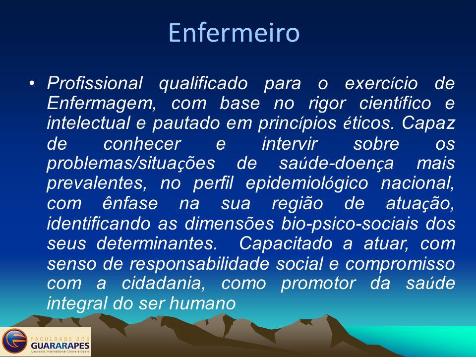 Tempo de Integralização Parecer CNE/CES Nº 8/2007 e a Resolução CNE/CES Nº 2/2007, O tempo para integralização do Curso de Enfermagem, deve ser de no mínimo 5 anos, e a carga horária mínima de 4.000 horas; Esta Decisão Surgiu das demandas sociais e das entidades de Enfermagem: Associação Brasileira de Enfermagem-Aben e do Conselho Federal de Enfermagem-COFEN.