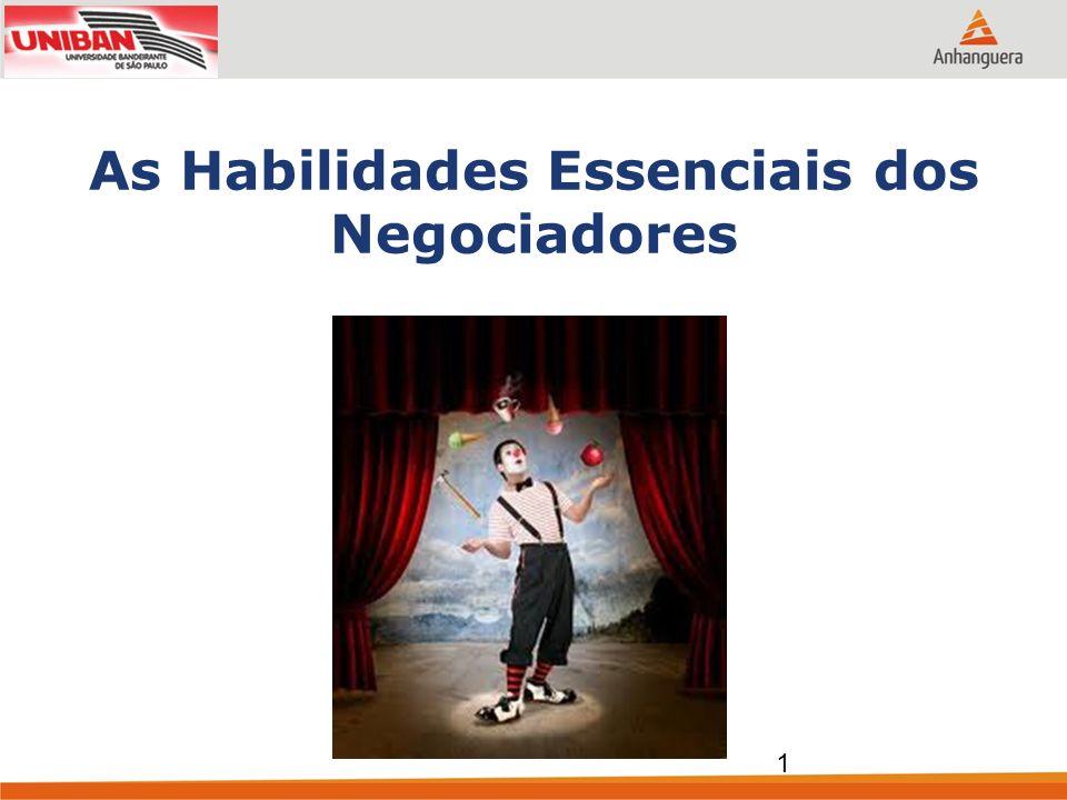 Identificando as habilidades essenciais dos negociadores 2