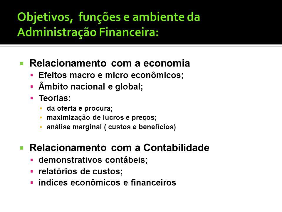 Controller: contabilidade financeira; contabilidade de custos; administração tributária; informática. Regime de competência Funções do contador: regis