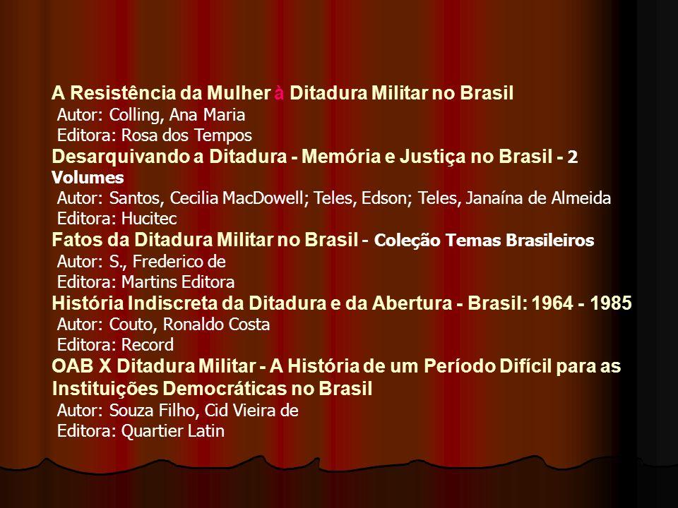 Dossiê Ditadura - Mortos e Desaparecidos Políticos no Brasil 1964- 1985 Autor: Imprensa Oficial Editora: Imprensa Oficial SP 1968: O Diálogo É a Violê