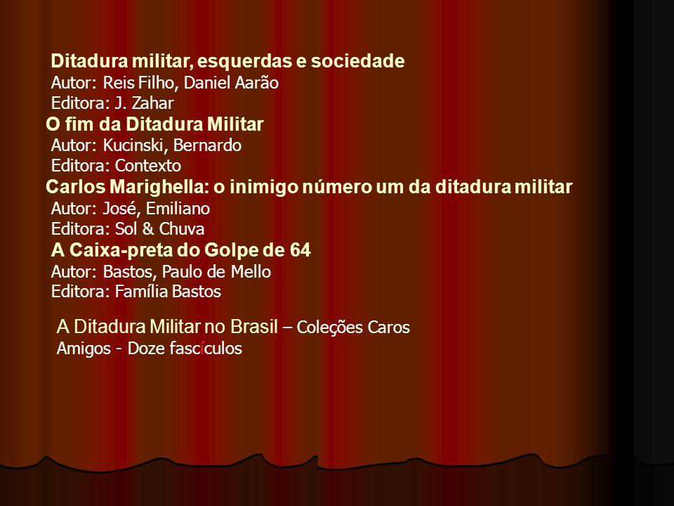 A Resistência da Mulher à Ditadura Militar no Brasil Autor: Colling, Ana Maria Editora: Rosa dos Tempos Desarquivando a Ditadura - Memória e Justiça n