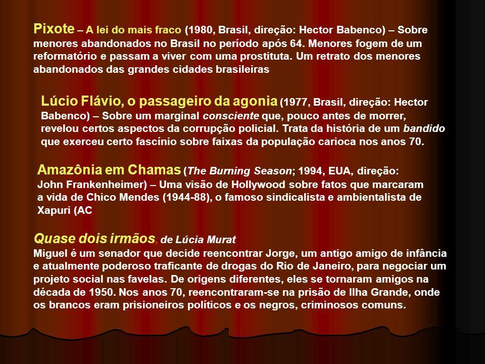 Abc da Greve ( Leon Hirszman, 1979) O filme cobre os acontecimentos na região do ABC paulista, acompanhando a trajetória do movimento de 150 mil metal