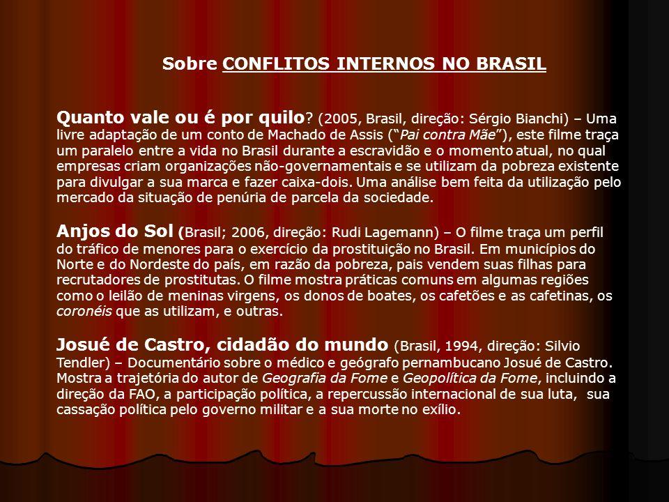 Quanto vale ou é por quilo ? (2005, Brasil, direção: Sérgio Bianchi) – Uma livre adaptação de um conto de Machado de Assis (Pai contra Mãe), este film