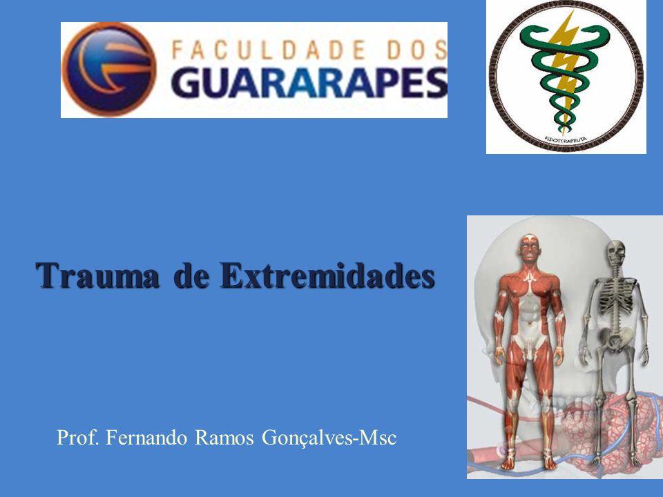 Trauma de Extremidades Prof. Fernando Ramos Gonçalves-Msc
