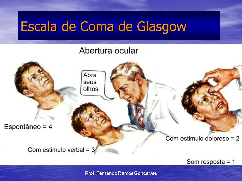 Prof. Fernando Ramos Gonçalves Escala de Coma de Glasgow