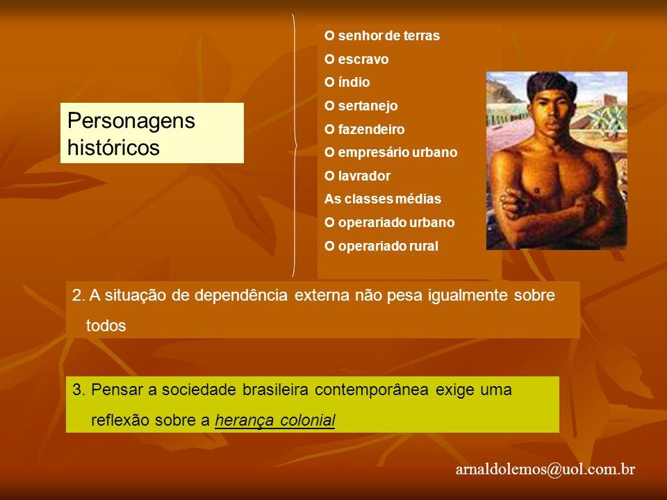 arnaldolemos@uol.com.br II – A SOCIEDADE BRASILEIRA TRADICIONAL 1.Surgimento do Brasil Transição do feudalismo para o capitalismo O papel da burguesia comercial européia 2.