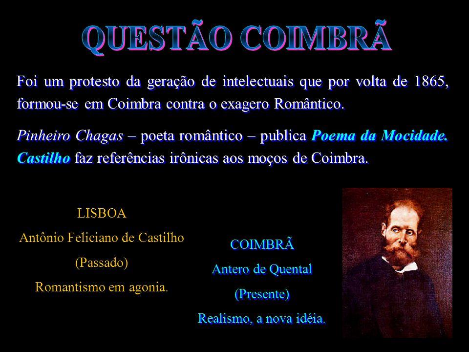 Antero de Quental responde a Castilho com um folheto intitulado BOM SENSO E BOM GOSTO, iniciando assim, uma luta entre eles.