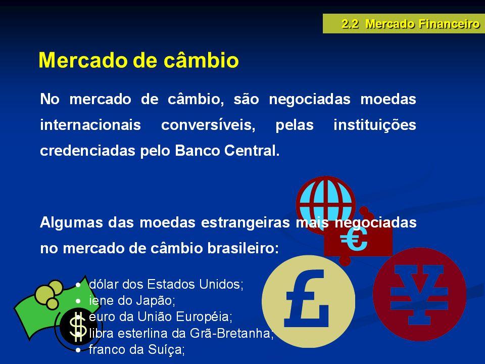 Mercado de câmbio 2.2 Mercado Financeiro