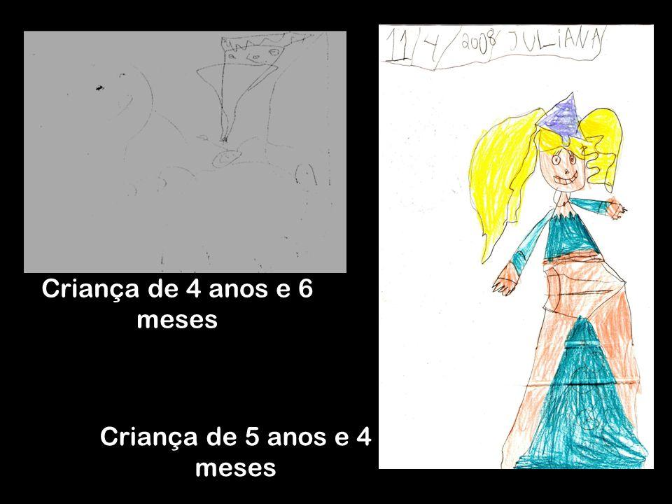 A partir dos 6 anos, a criança mostra mais claramente em seus desenhos as influências da cultura de valores em relação aos personagens, objetos e locais representados