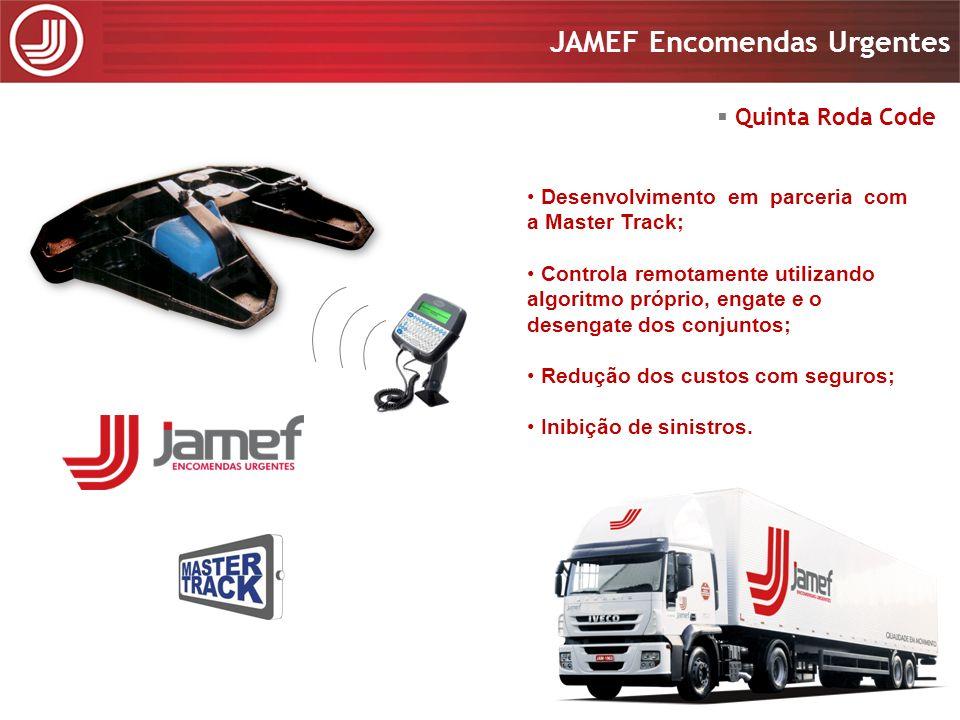 Apresentação 2008 JAMEF Encomendas Urgentes Apresentação 2008 JAMEF Encomendas Urgentes Desenvolvimento em parceria com a Master Track; Controla remot