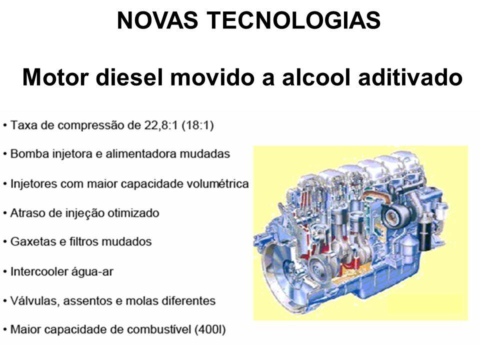 Motor diesel movido a alcool aditivado NOVAS TECNOLOGIAS