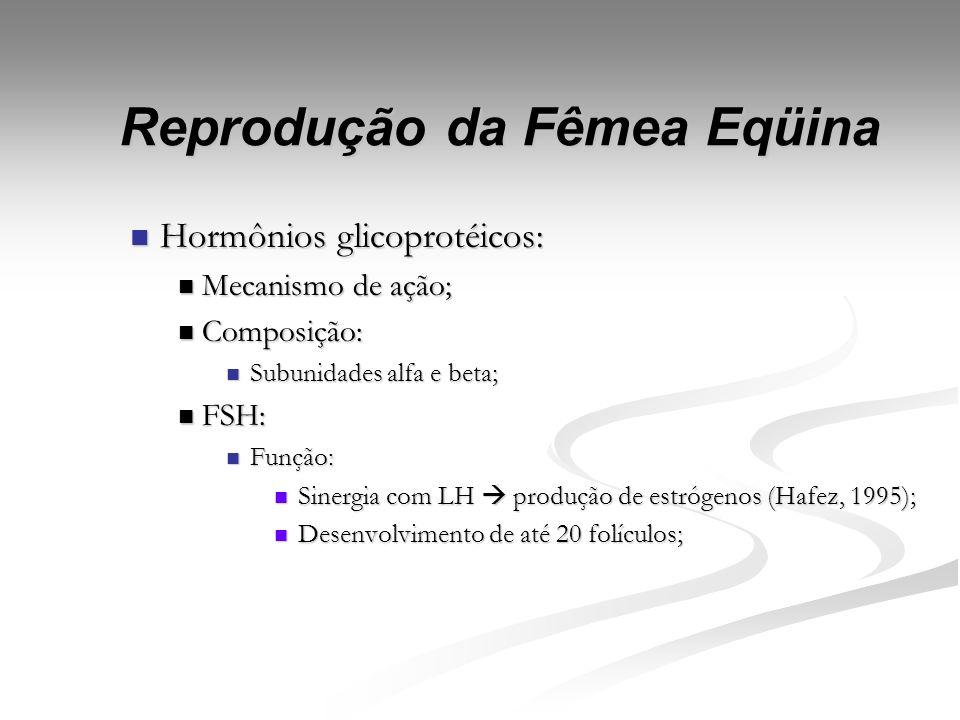 Prostaglandinas F2-alfa: Prostaglandinas F2-alfa: Composição: Composição: Ácido Araquidônnico; Ácido Araquidônnico; Função; Função; Ciclo estral; Cicl