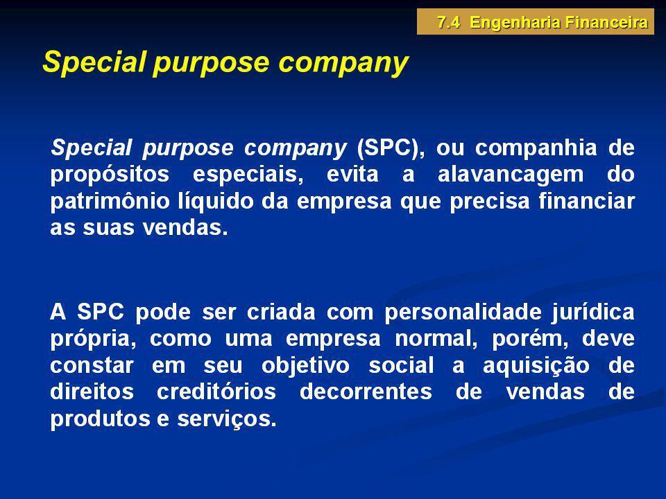 Special purpose company 7.4 Engenharia Financeira