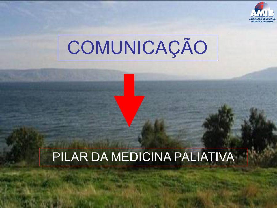 COMUNICAÇÃO PILAR DA MEDICINA PALIATIVA