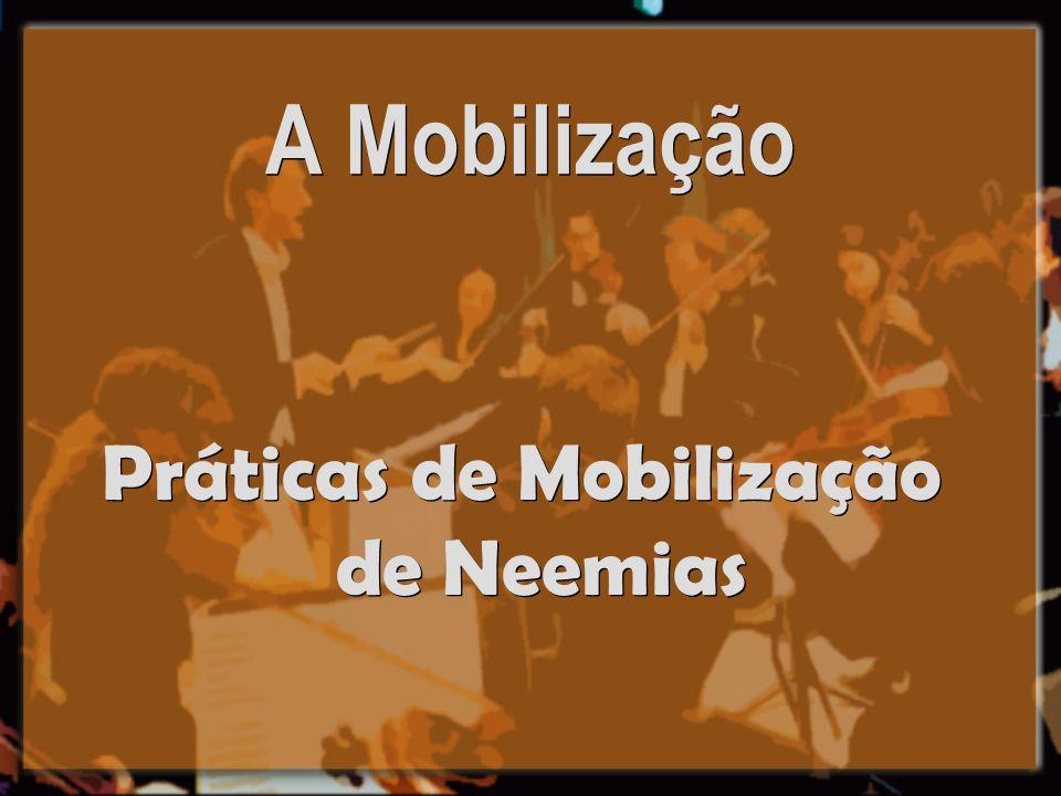 A Mobilização Práticas de Mobilização de Neemias