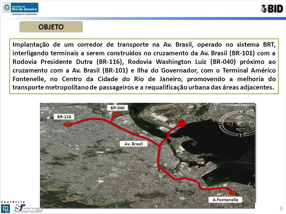 Projeto do Corredor BRT na Av.