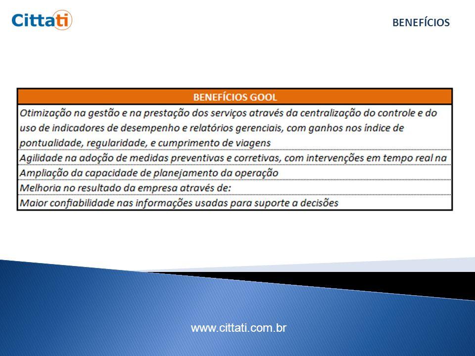 www.cittati.com.br INSTÂNCIAS ENVOLVIDAS E BENEFÍCIOS Um serviço melhor e mais eficiente.