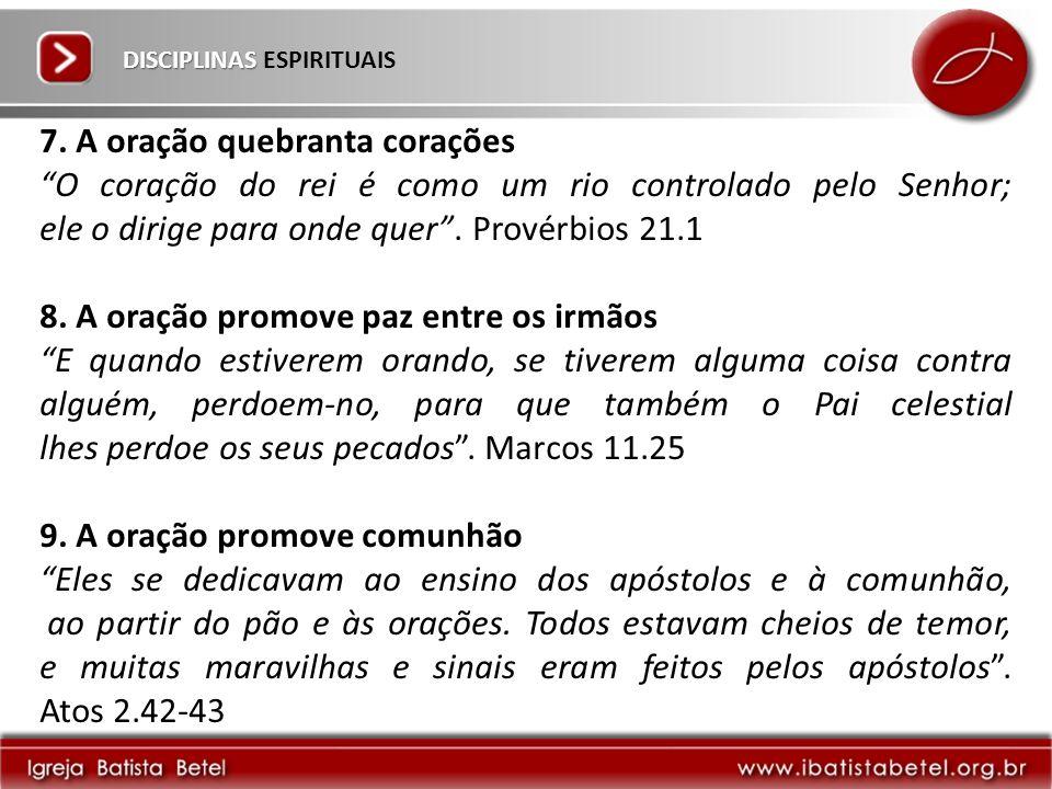 DISCIPLINAS DISCIPLINAS ESPIRITUAIS 7.