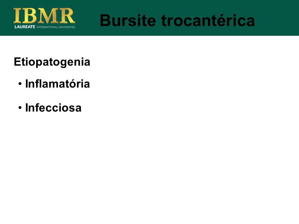 Etiopatogenia Inflamatória Infecciosa