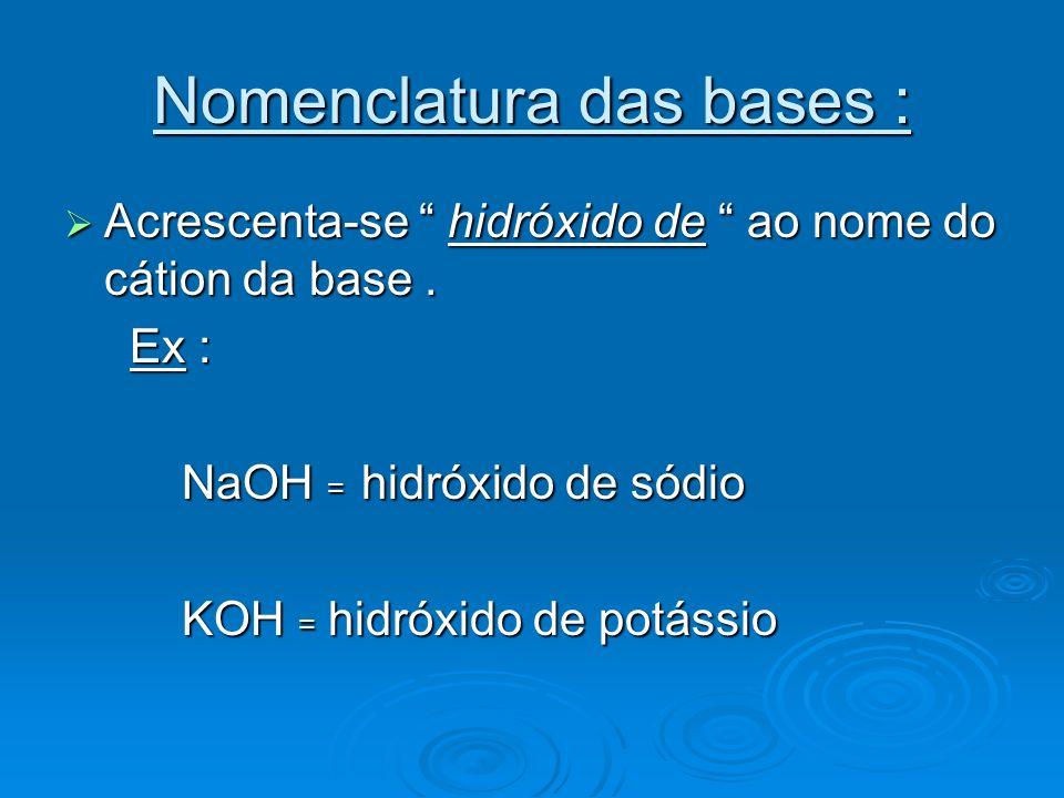 SAIS : São substâncias com as seguintes propriedades : Em solução aquosa, liberam cátions diferentes de H+ e ânions diferentes de OH- Em solução aquosa, liberam cátions diferentes de H+ e ânions diferentes de OH- Podem ser originados da reação de um ácido com uma base.