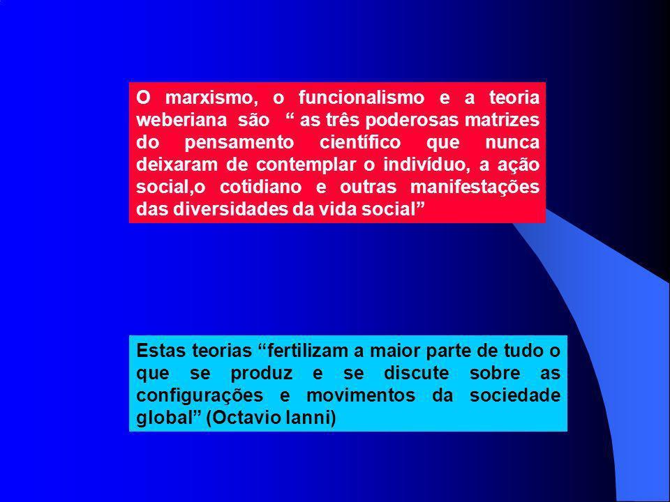 Karl Marx (1818-1883), embora não tenha nenhuma preocupação em definir uma ciência específica para estudar a sociedade, procurou entender a sociedade capitalista a partir de seus princípios constitutivos e de seu desenvolvimento Emile Durkheim (1858-1917) procurou insistentemente definir o caráter científico da Sociologia, dedicando-se a delimitar e a investigar um grande número de temas.