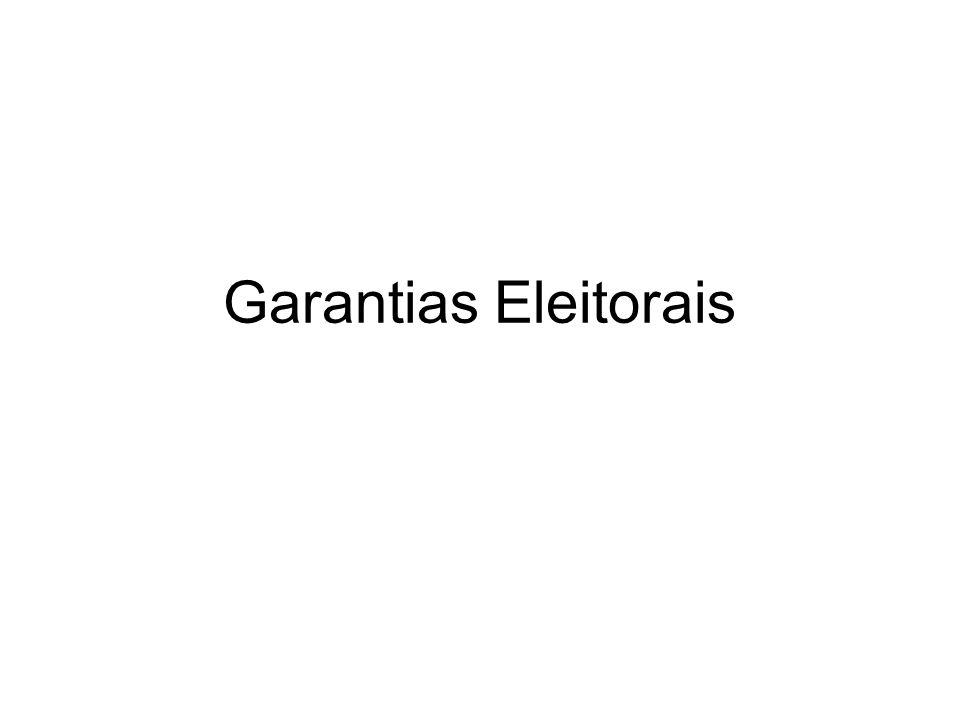 Garantias Eleitorais