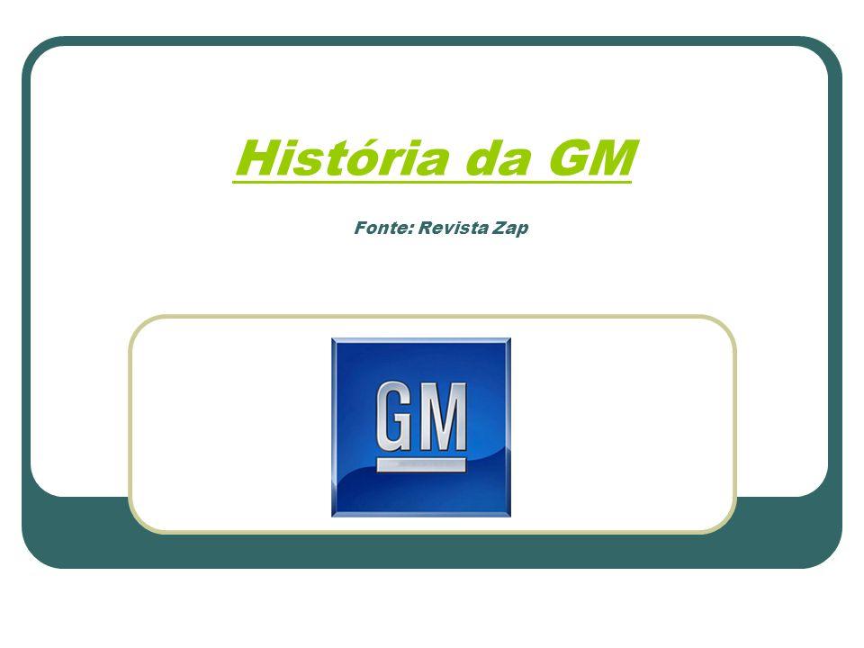 Dia 26 de janeiro de 1925, a General Motors se fixa na av.